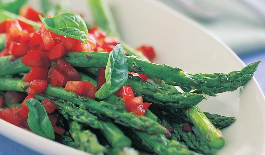 asparagus-with-balsamic-dressing